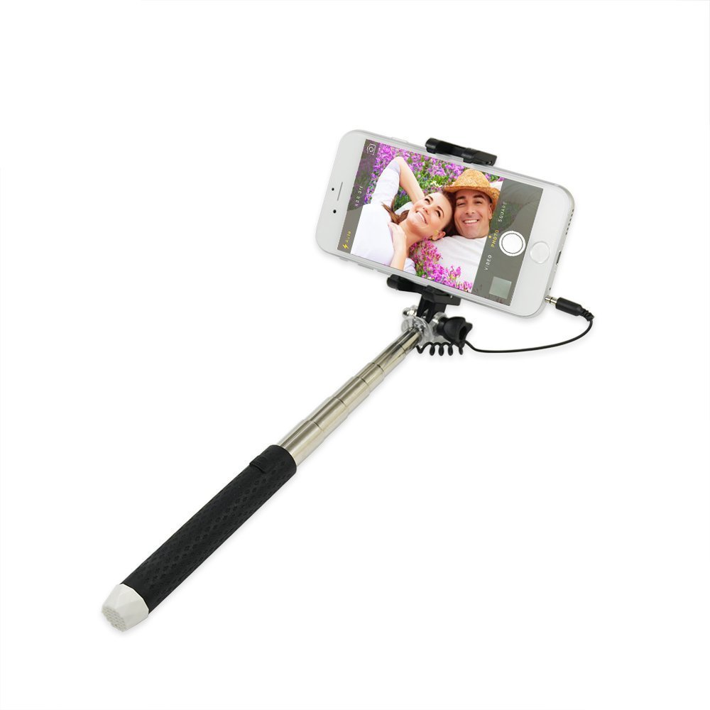 Portable Pen Sized Wired Selfie Stick