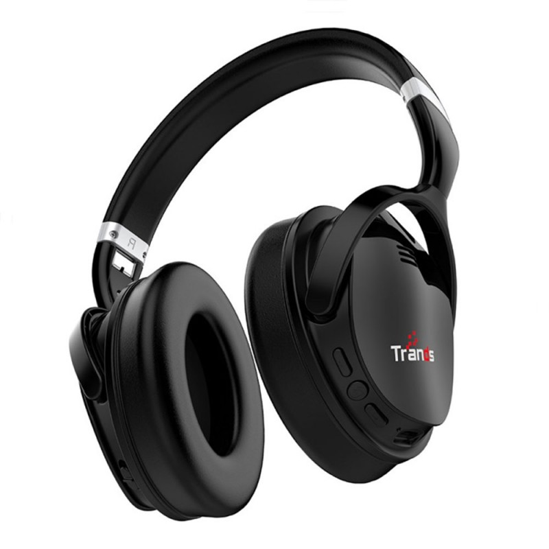 Play loud Wireless Bluetooth Active Noise Cancelling Stereo Headset
