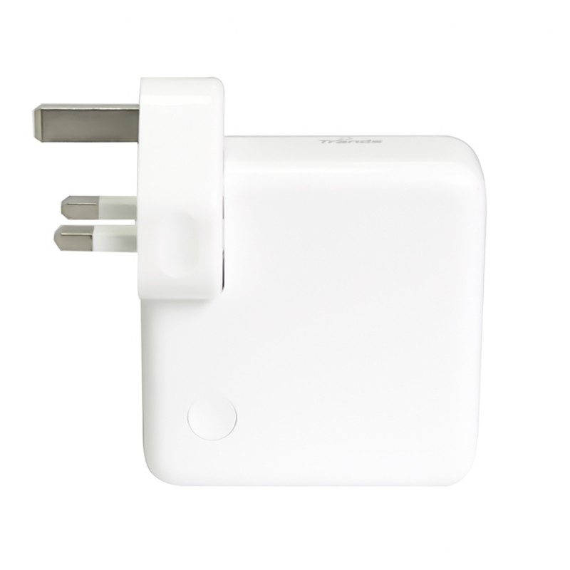 USB Power Adapter with 5200mAh Power Bank