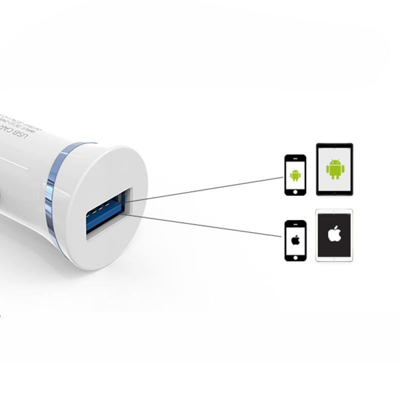 Single USB Port Car Charger