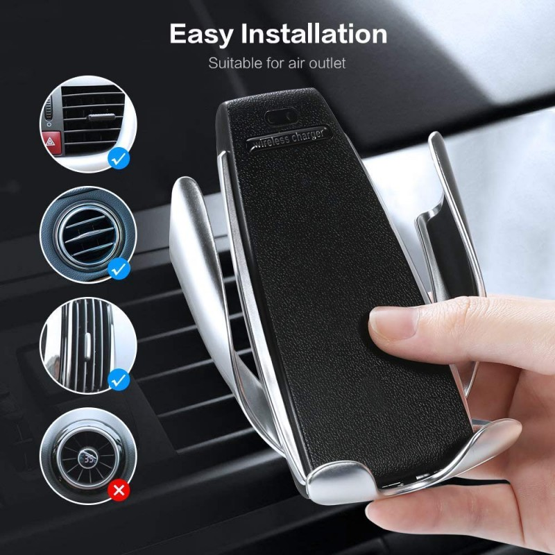 Automatic Smart Sensor Wireless Car Charger