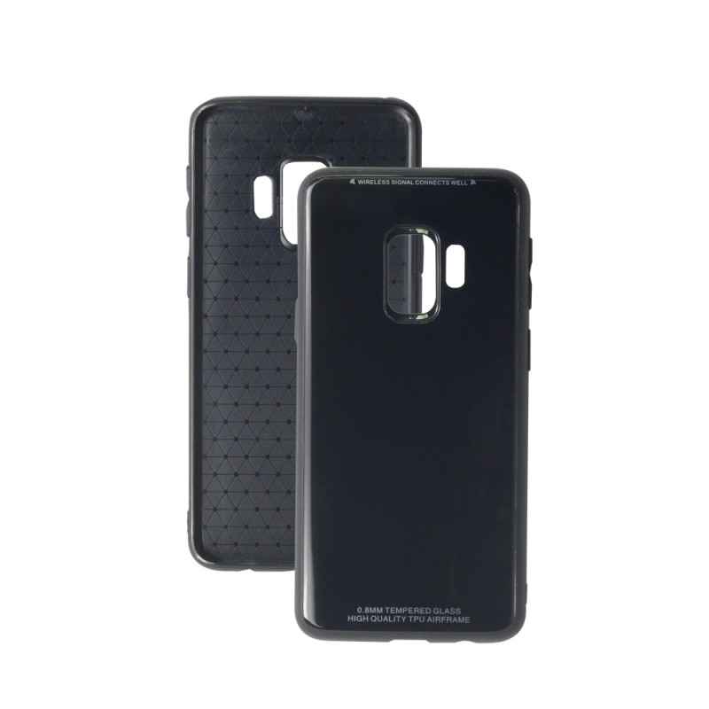 Leather Back Case For Samsung Galaxy S9