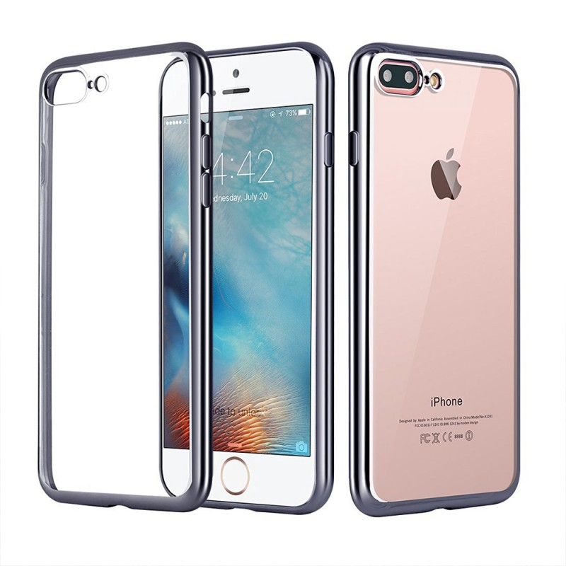 Clear Silicon Case for iPhone 7 Plus