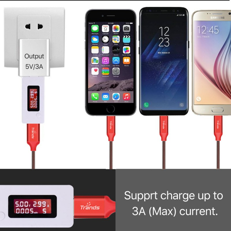 3 in 1 USB Hi Speed Charging Cable