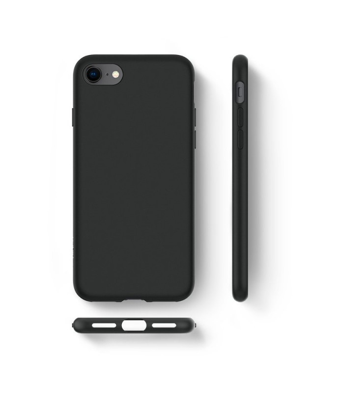 Hard Back Leather Case for iPhone 8