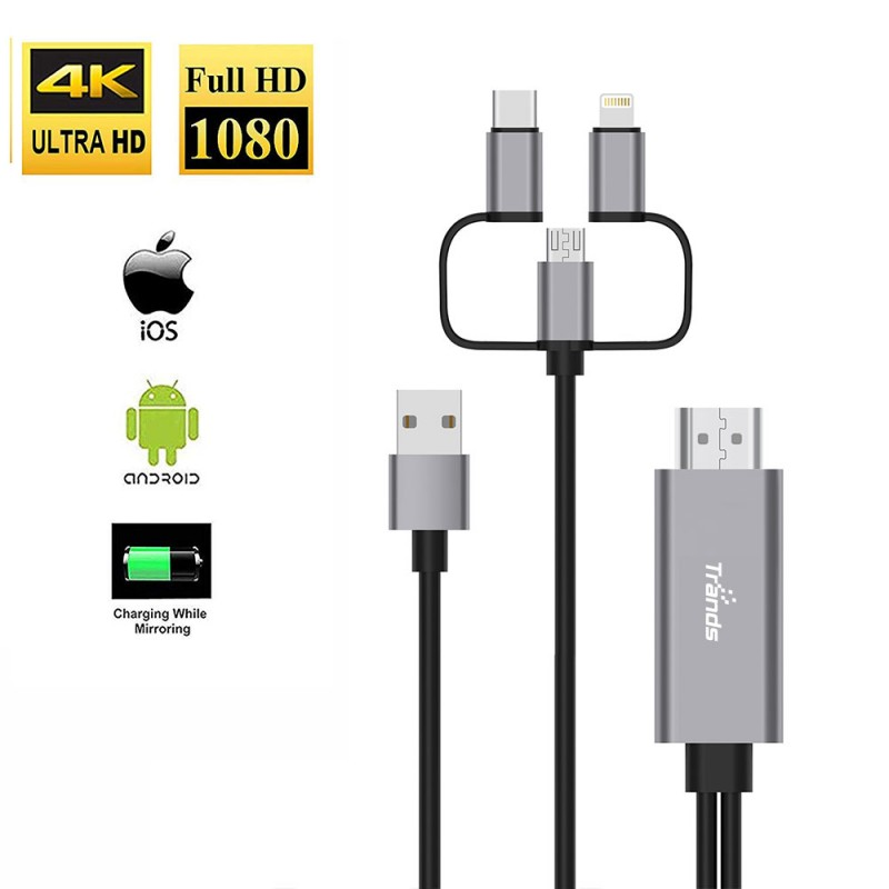 Smartphone HDTV MHL Cable