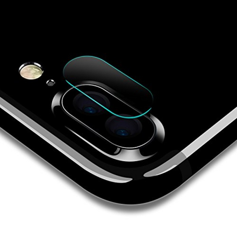 Anti-Scratch Back Protection Glass with Camera Guard for iPhone 8 Plus