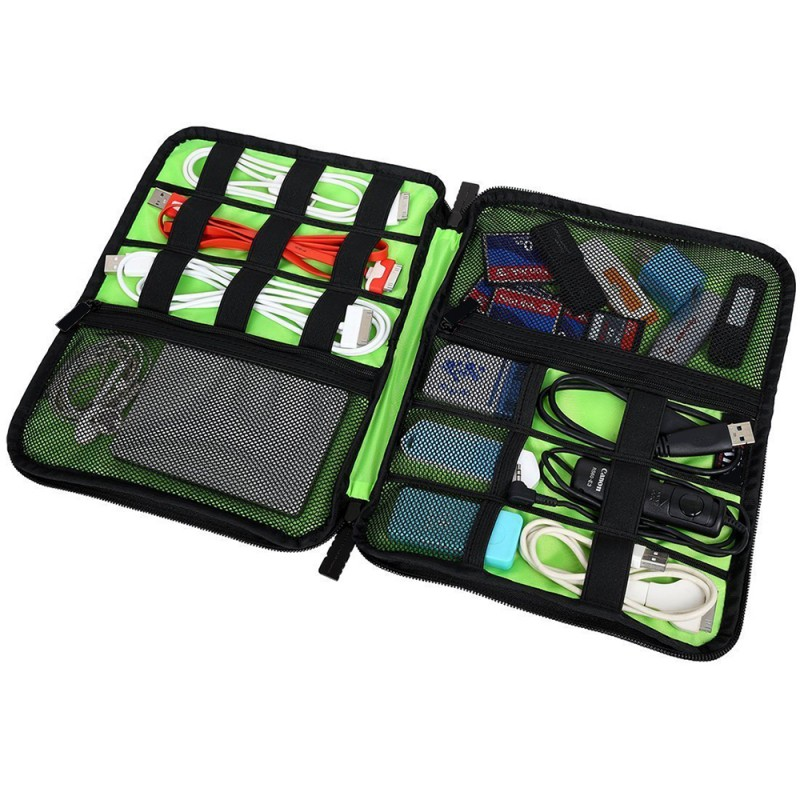 Multi functional Cable Organizer and Storage Pouch