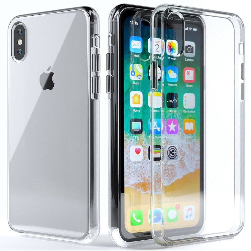 Ultra Slim Scratch Resistant Clear Case for iPhone X