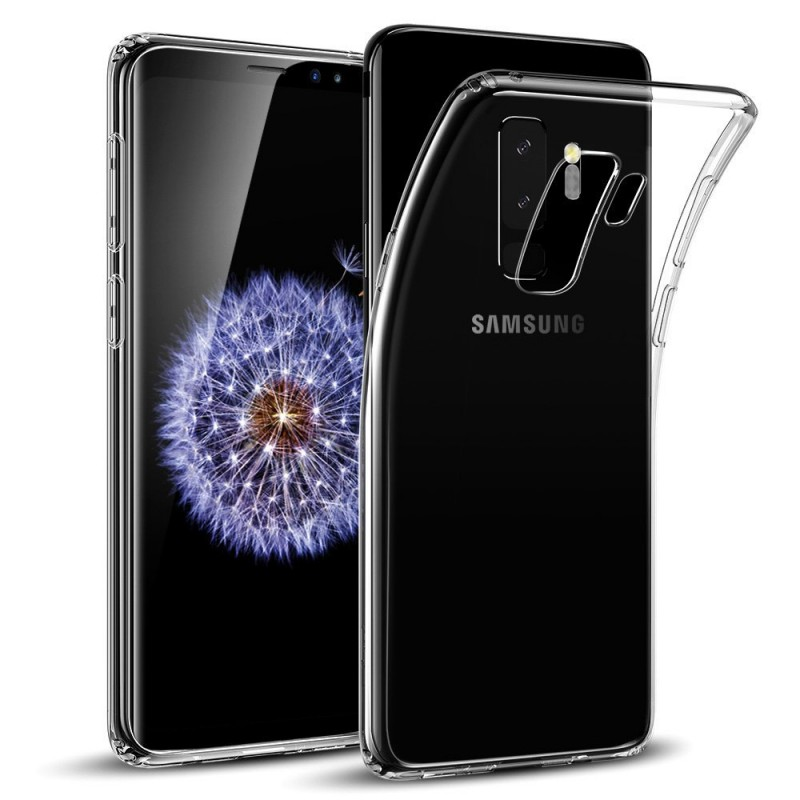Transparent Back Case for Samsung Galaxy S9 Plus