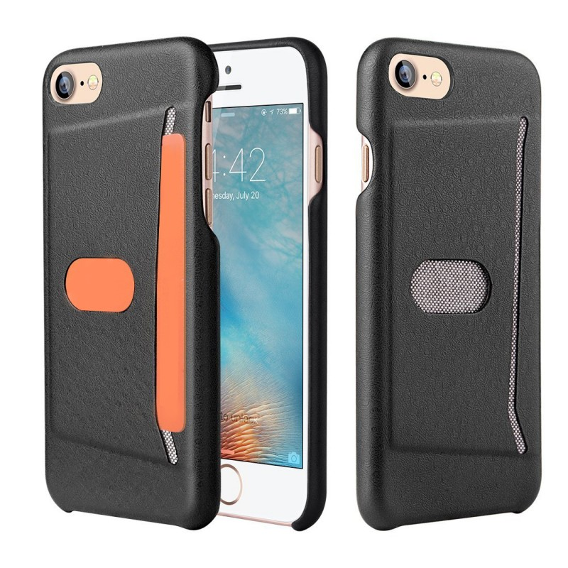 Leather Case for iPhone 7 with Card Slot