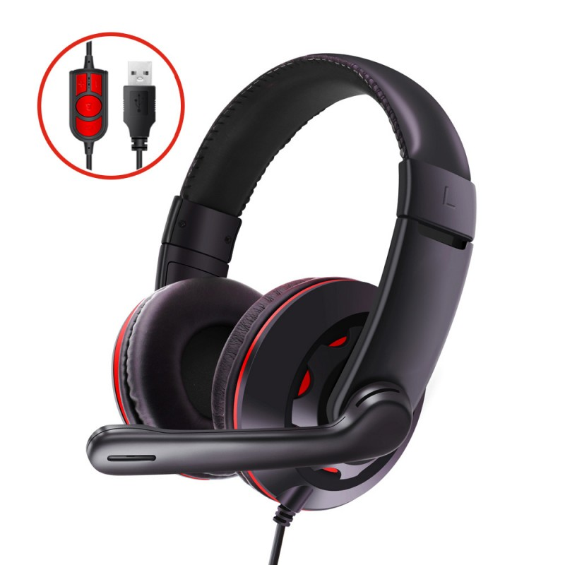 USB Stereo Over Ear Headphone