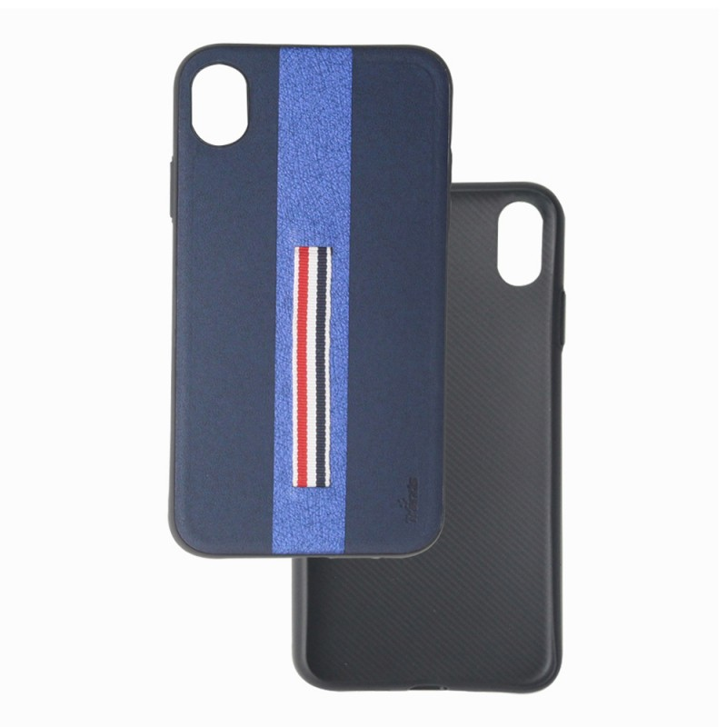 Leather Back Case for iPhone XR