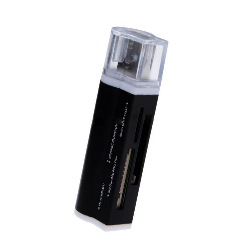 Mini Multi in One Fashionable Memory Card Reader