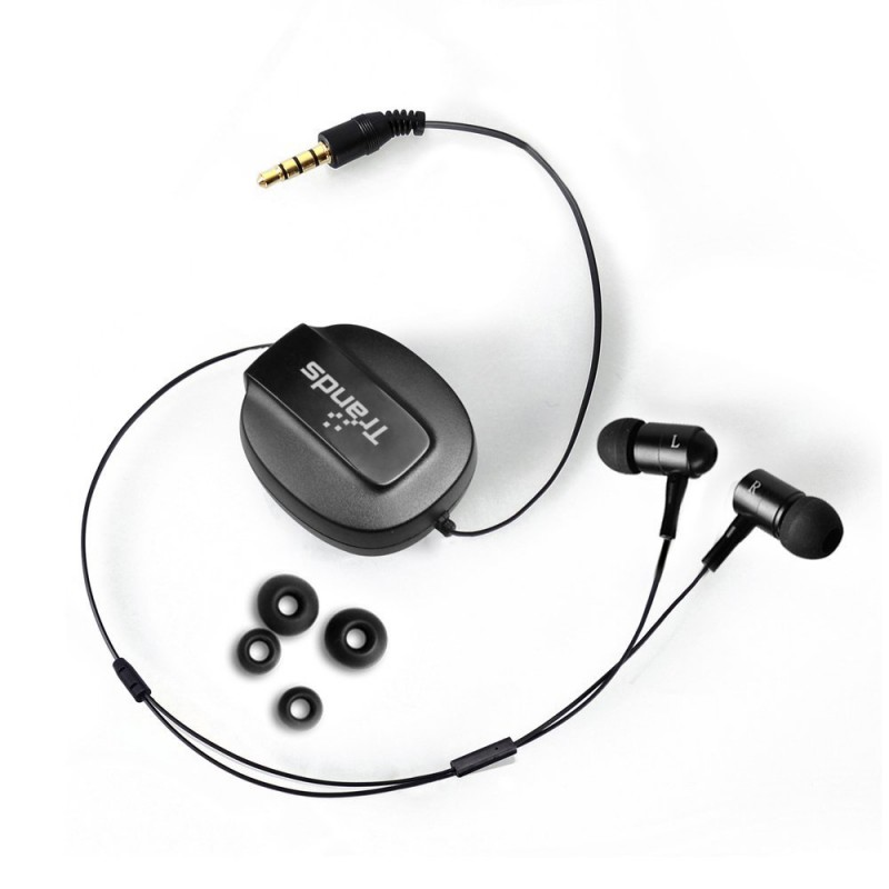 Retractable 3.5mm In-Ear Headset