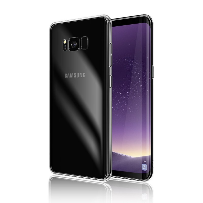 Transparent Back Case for Samsung Galaxy S8