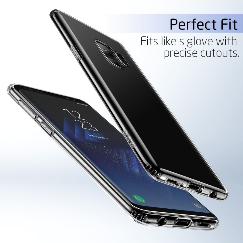 Transparent Back Case for Samsung Galaxy S9