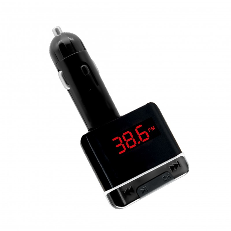 FM Transmitter with Car Charger