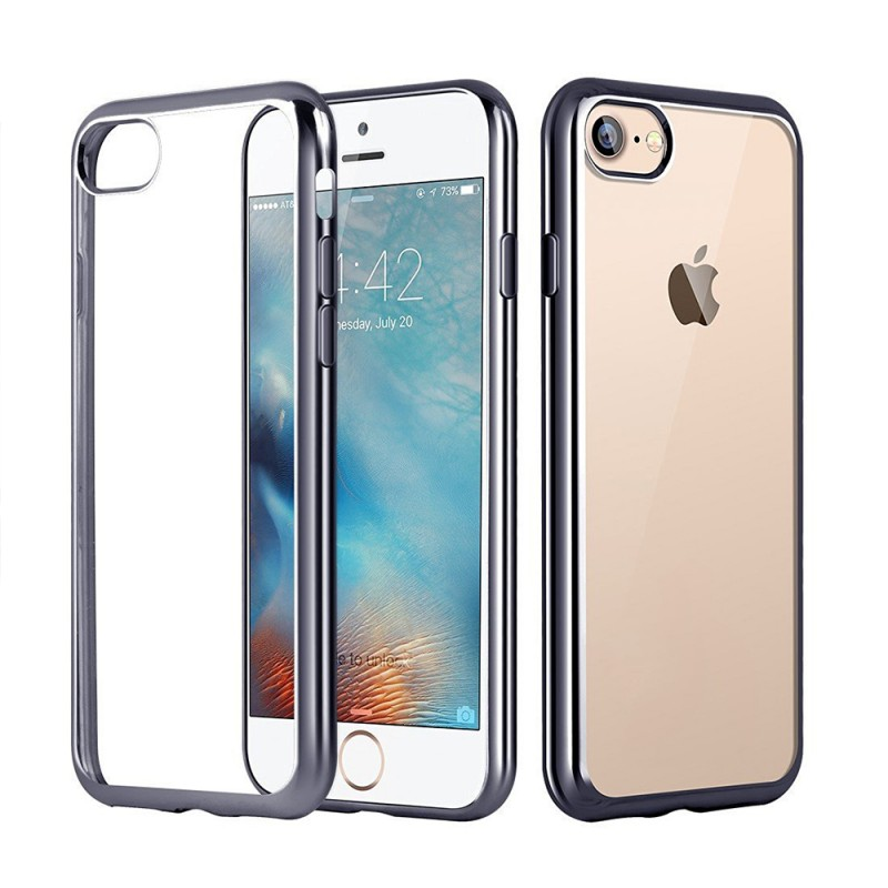 Clear Silicon Case for iPhone 7