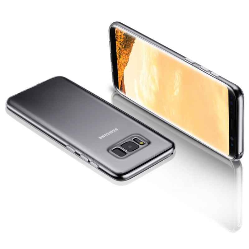 Transparent Back Case for Samsung Galaxy S8 Plus