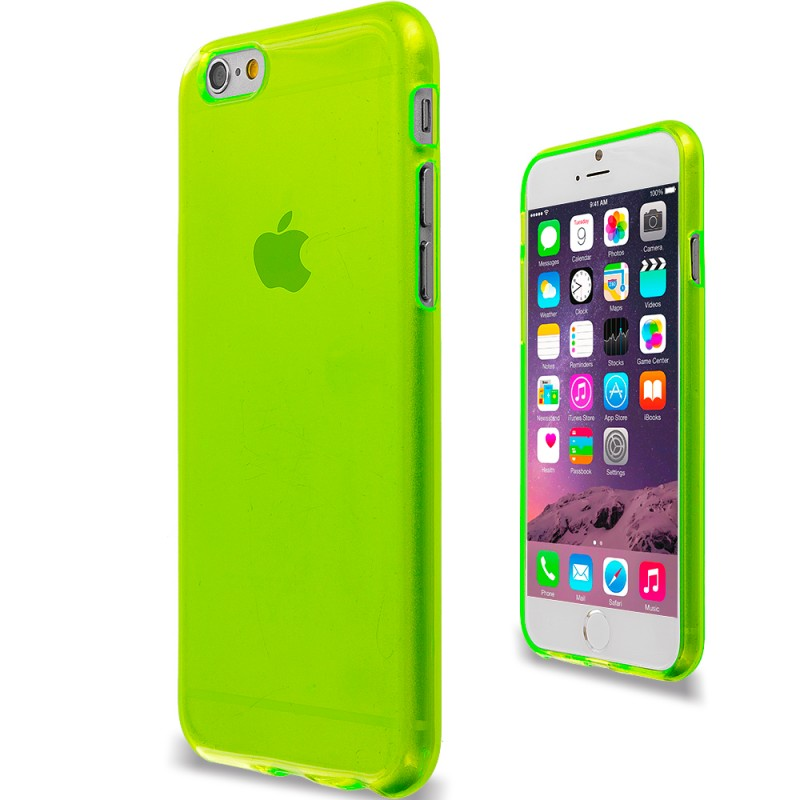Transparent Back Case for iPhone 6S