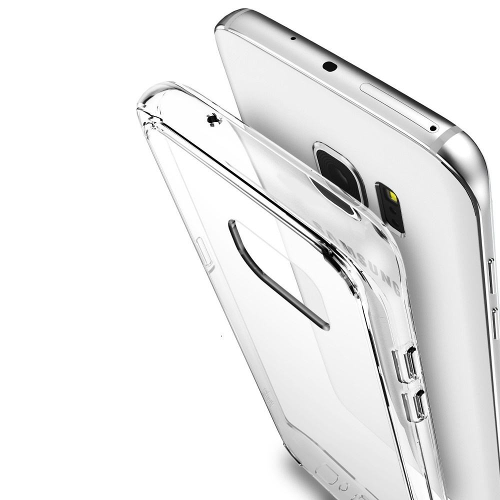 Clear TPU Back Case for Samsung S7 Edge