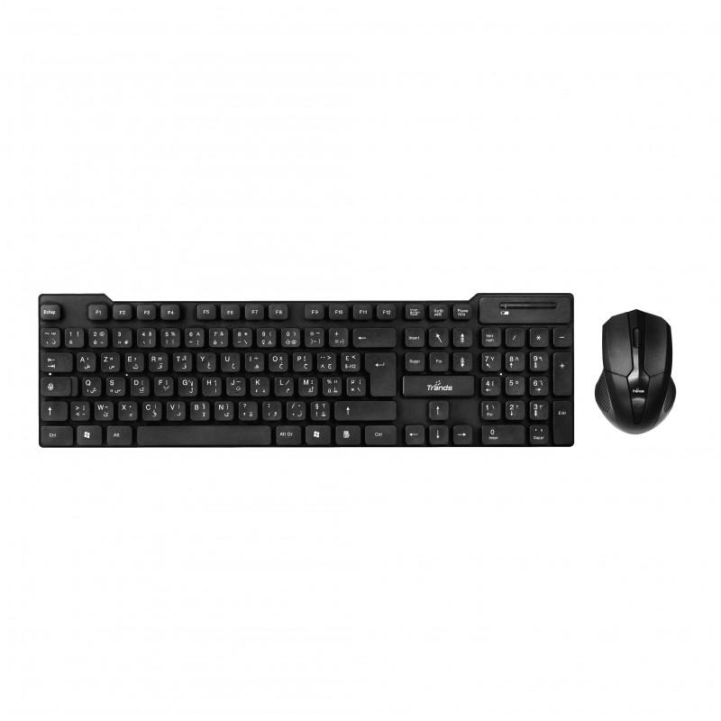 Wireless Keyboard with Wireless Mouse