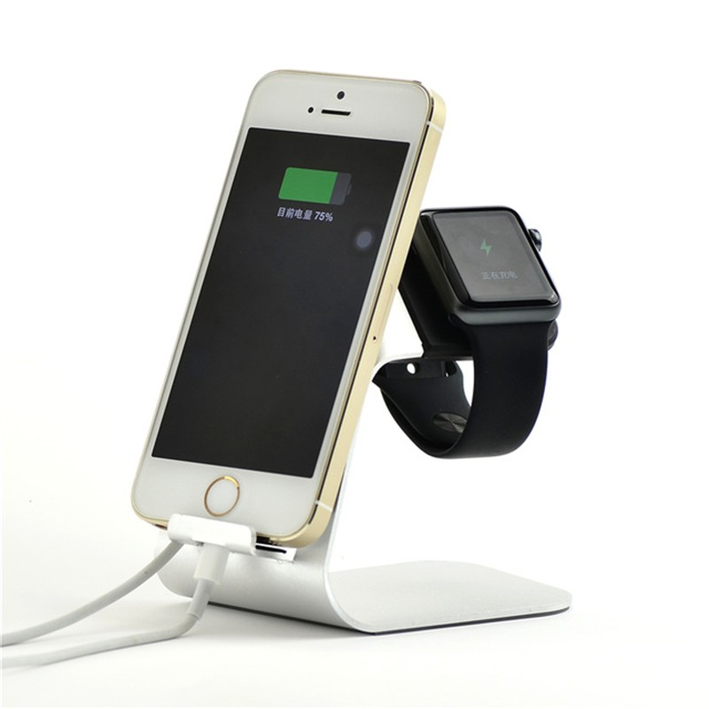 2 in 1 iPhone and iWatch Charging Stand