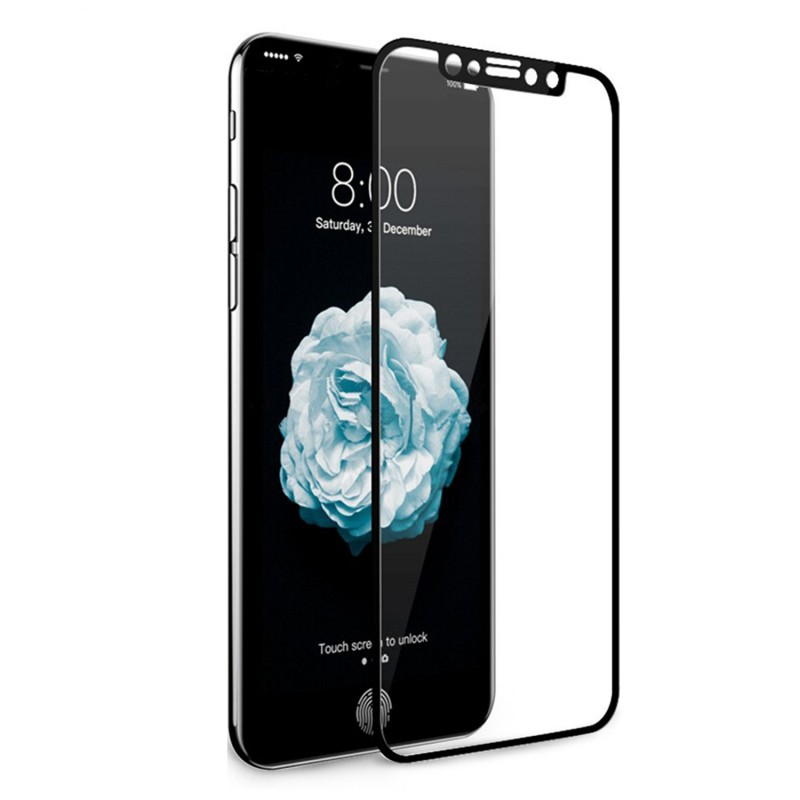 9H Hard Full Transparency Tempered Glass for iPhone X