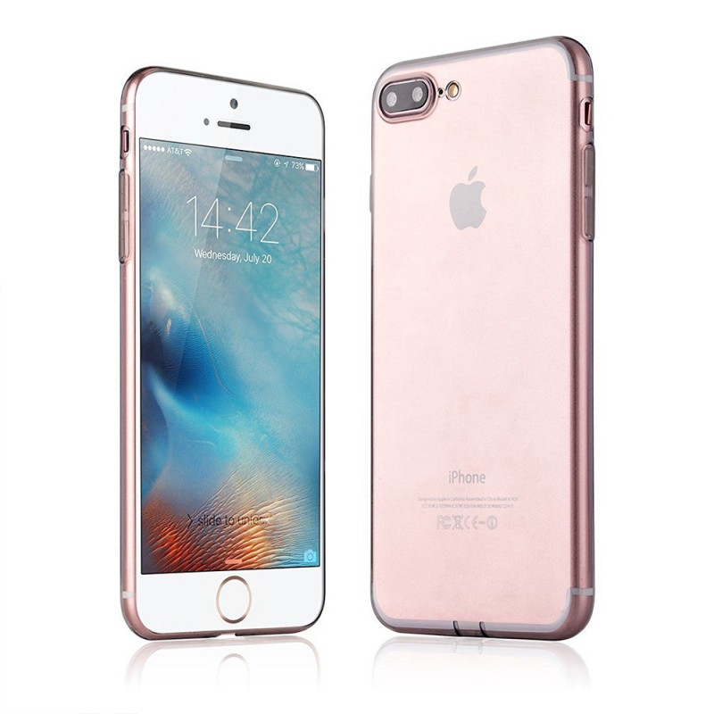 Clear Back Case for iPhone 7 Plus